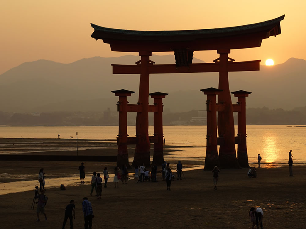 Ōtorii at Itsukushima Shrine