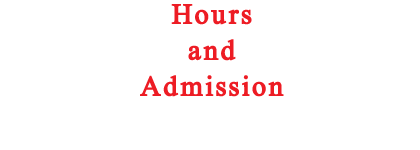 History/Hours/Admission